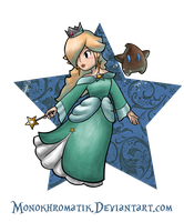 The Empress of the Stars: Rosalina by MonoKhromatik