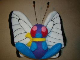 Butterfree Plush by Shadowless-Dreamer
