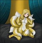 commissioned - Milly the 9tail by Rosvo