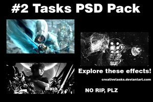 2 Tasks PSD Pack by Creativetasks