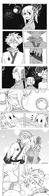 NaLu Fluff Week Prompt: Festival by AyuMichi-me