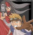 Vince with Cid- FFVII by TheSpyWhoLuvedMe