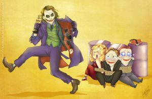 TDK: This is for you, Joker by D-Thessy
