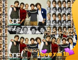 #Blend de One Direction 02 by Mica-Editions