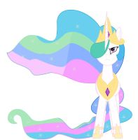 Princess Celestia by Percyfan94