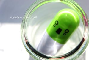 Green Capsule by MGylleOmadto