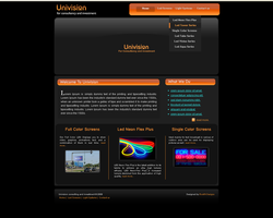 Univision Website page1 by safialex83