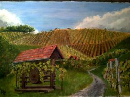 Vineyards by FizikArt