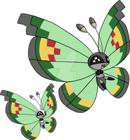 666 - Vivillon (Garden Pattern) by Tails19950