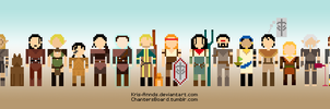 Dragon Age Pixelified by Kris-Annds