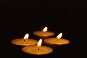 small  candle stock: 2 by Snowys-stock