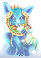 Babynubis - Smite Anubis Fan Art by aasterath