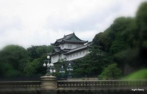 The Imperial Palace by night-faery