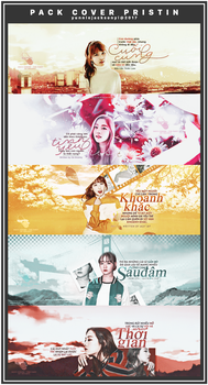 PACK COVER PRISTIN by yunniejacksonyi