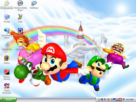 Mario Party Wallpaper by DrFurball
