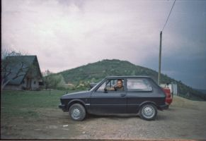 A BAD ASS in a yugo by Adopusina