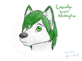 Cascadia Washington- Colored Sketch by SonarSnow