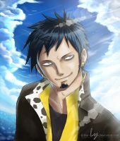 Deadly Smile | Trafalgar Law by The-Ly