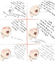 How To Draw Saliva drooling .. by Yaoi-Master-Forever