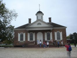 Williamsburg Courthouse by Archanubis