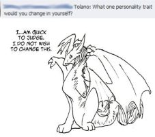 Questions: Tolano 3 by applescruff