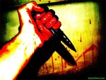 With Knife in Hand by dpatton38