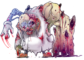 Norton Nimnul (Chip and Dale: Zombie Crushers) by BeshAniyZayka