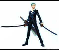 OP Strong World: Zoro Figure 1 by sheiku92
