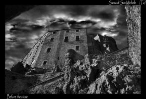 sacra  of Saint Michael by darketta