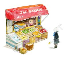 Benny and Teddy -JW Store- by amoykid