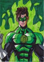 First crack at the Green Lantern by ChahlesXavier