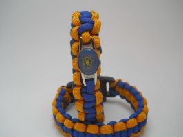 WoW: For the Alliance! Paracord Bracelets by flarewingpwny