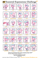 Expression Meme [Mime Style] by Woestijn