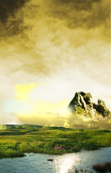 Surreal mountains by SKOKEcp24