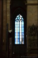 Mainz Cathedral Window IV by Tramira