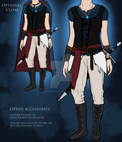 My Medieval Costume Concept by sugarpoultry