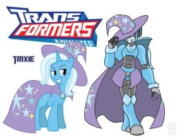 Transformares Trixie by Inspectornills