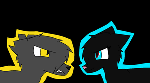 Dawnheart VS Darkcloud by DawnheartShadowClan