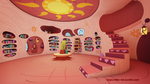 MLP - Golden Oaks Library Interior (3D Model) by Imp0s5ible