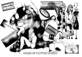 House of Clothes Horses by MODDEYDOO