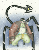 Doc Ock's grmupy face by StarScout-lost