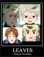 Hetalia Leaves by BlindDevotion