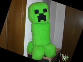 MineCraft Plush Creeper by KazumiNoMegami