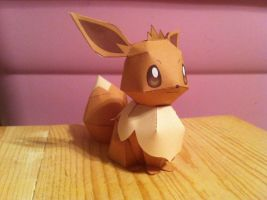 Papercraft Eevee by SirAlex0014