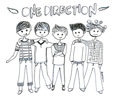 One Direction. by monsterseverywhere