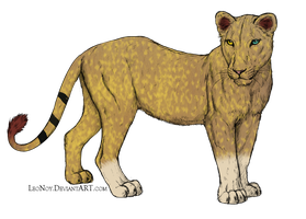 Draw to Adopt Lioness WATCHERS ONLY by UkuleleMoon