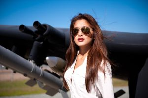 Amy at Miramar Air Museum 5 by trevor-w
