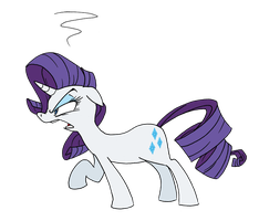 Rarity Disapproves of Your Antics by FractiousLemon