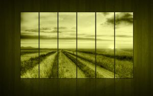 Wallpaper Green Side Wood by cool1GFX