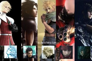 Final Fantasy Hot Guys by ichiru-san